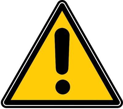 cautions symbol