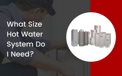 What size hot water system do I need?